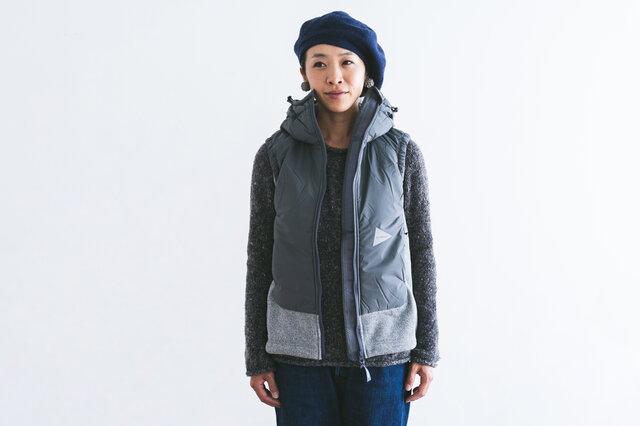 and wander|top fleece vest