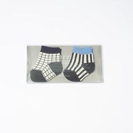 TRICOTE|BABY SOCKS 2piece ベビーソックス【2足セット】(出産祝い)