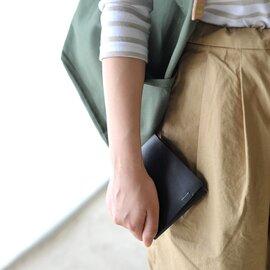 所作 レザーショートウォレット2.0 二つ折り財布・SHO-SH2-A