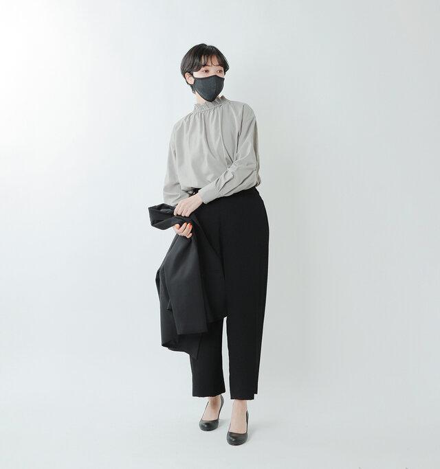 model saku:163cm / 43kg  color : RachelBlack / size : one