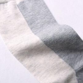 RoToTo|バーティカルソックス VERTICAL SOCKS バイカラー ミドル丈 靴下 R1316 ロトト