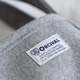 ORCIVAL|メルトンミニトートバッグ rc-7072wmt-mm