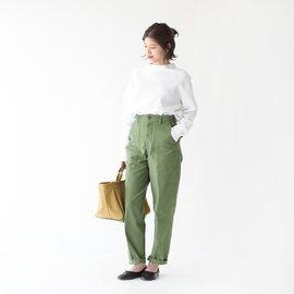 The Shinzone|【2020AW】ベイカーパンツ BAKER PANTS ハイウエスト センタープレス パンツ 15AMSPA18 PETIT シンゾーン