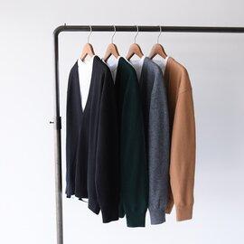 Shinzone|ビジー ニット BUSY KNIT クルーネック ポケット付き 長袖Tシャツ Vネック ニットセーター セット トップス 20AMSNI72 シンゾーン
