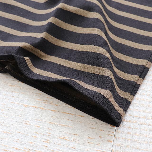 柔らかなコットン素材で着心地も良さも魅力。