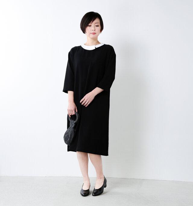 model mayu:158cm / 48kg color : black enamel / size : 23.0cm