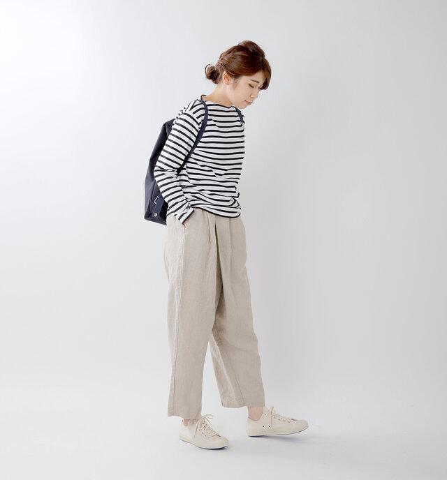 model hikari:165cm / 48kg color : natural / size : 24.0cm