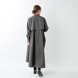 MidiUmi|コットンAラインシャツワンピース 3-758183-yn