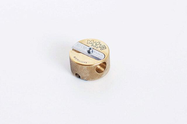 ドイツ/M+R社/真鍮の鉛筆削り(シャープナー) 【ネコポス対応】