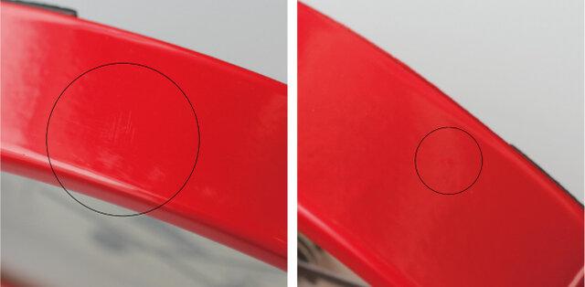 表面に細かな傷やわずかな凹凸が見られる場合がございます。 予めご了承ください。