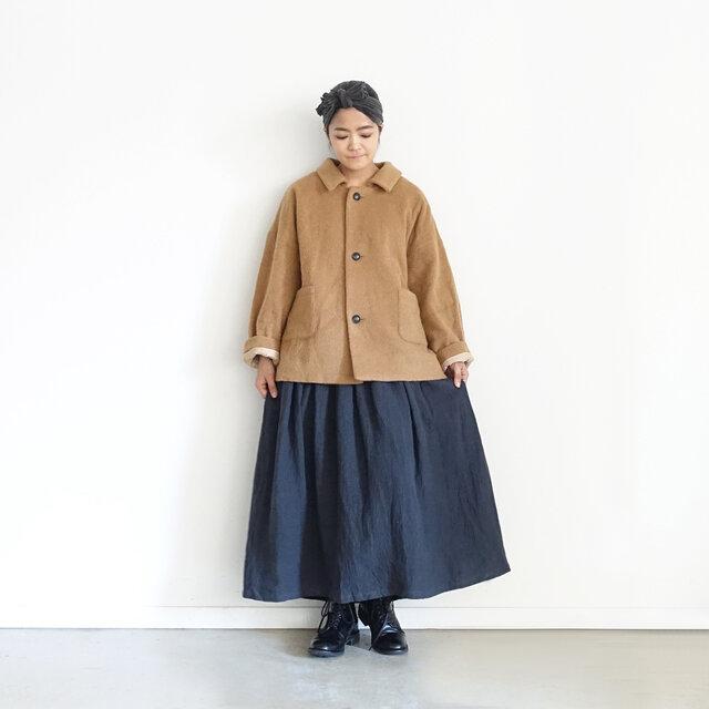 Model 158cm、Black × Charcoal 着用