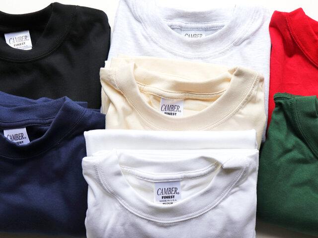 アメリカ製のTシャツで、6オンスのシンプルな長袖Tシャツです。カラーは豊富な7色展開。