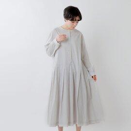 Gauze# 2wayコットンプリーツワンピースドレス g594-yh【21ss】