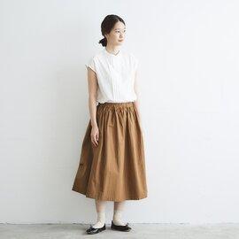 Cion|コットンギャザースカート・19-11211