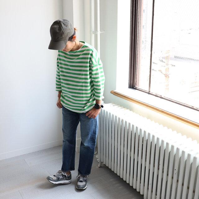 グリーン 着用、モデル身長:158cm