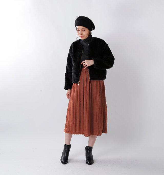 model yama:167cm / 49kg color : brown / size : 1