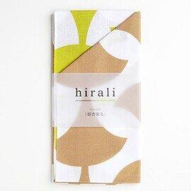 hirali|手ぬぐい かさねの色目 ~銀杏散る~