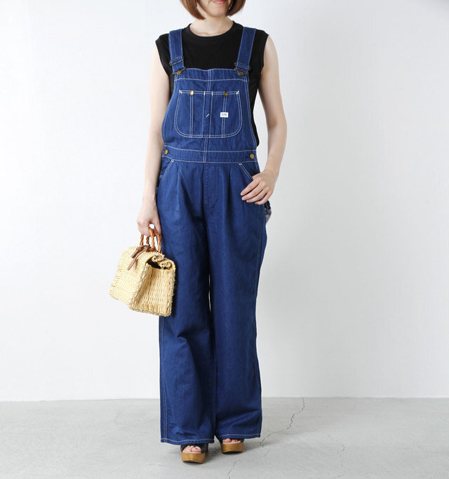 model yumi:165cm / 52kg color : rinse / size : M
