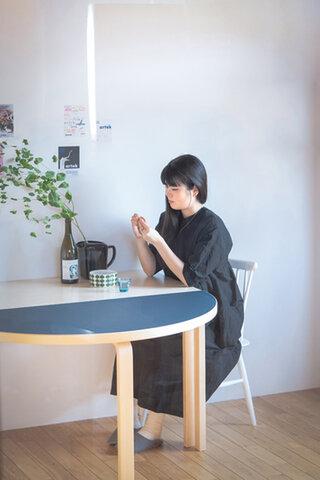 Artek│半円テーブル(haluta オリジナルカラー)