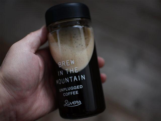 淹れたてのコーヒーも大丈夫です