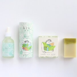 kiu 祈雨 禊セット【期間限定5%オフ】石鹸・オイル化粧水