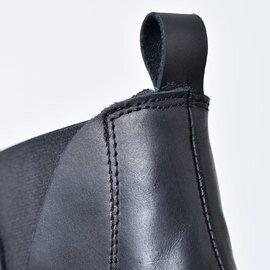 El Sepia|ナッパレザーサイドゴアショートブーツ 908-015-yh