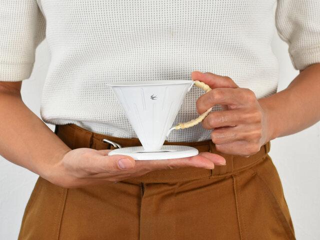 こちらは、手のひらサイズの1~2杯用です。