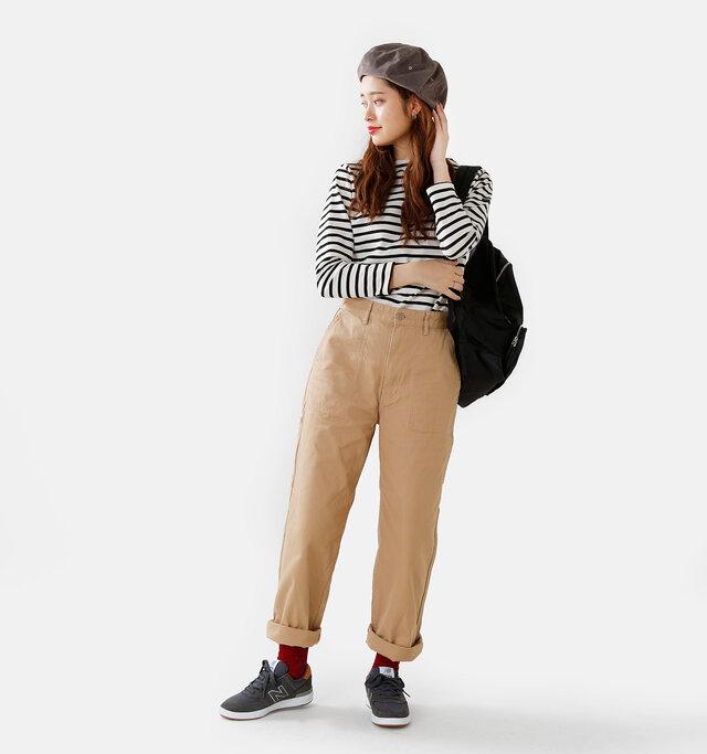 model kanae:167cm / 48kg color : scarlet / size : 37-38