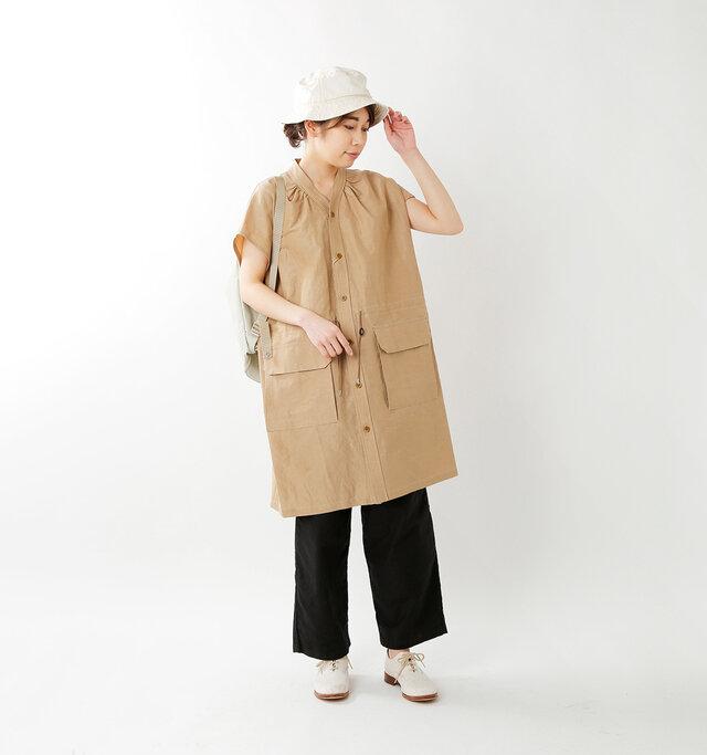 model hikari:165cm / 48kg  color : off white / size : F
