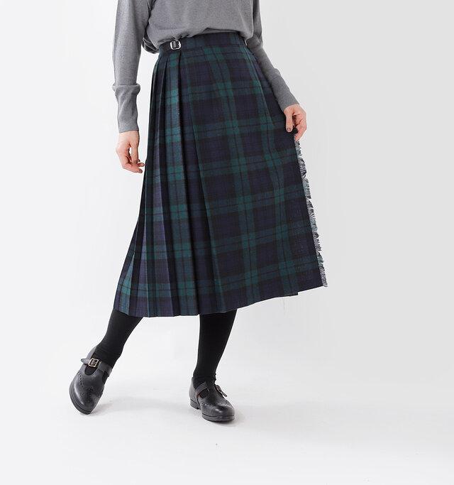 秋のトラッドに ぴったりの オニールのスカート。