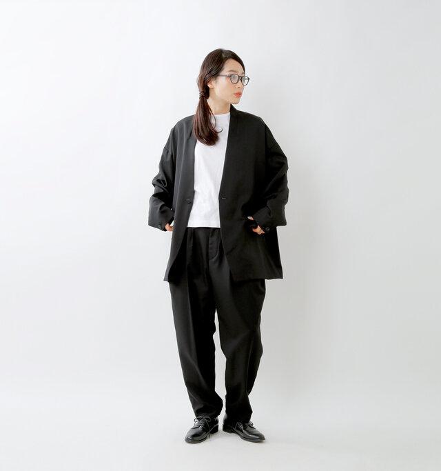 model mizuki:168cm / 50kg  color : black / size : 1