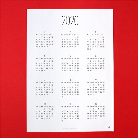 Noritake SEE BY DAY 2020(poster)