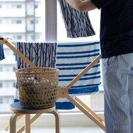 【送料無料】 SCOPE | house towel ライト Twiggy(ブルー×ホワイト)おまけ付き
