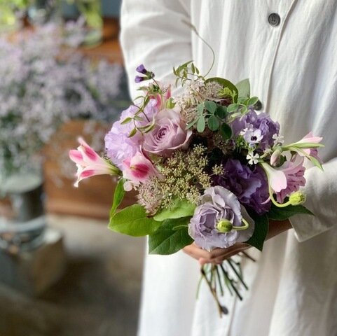ex.│bouquet 季節の花束