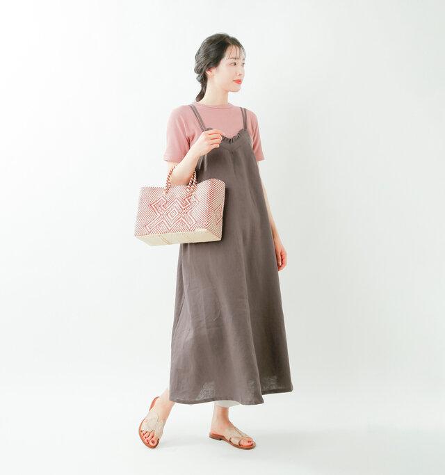 model mizuki:168cm / 50kg  color : brown / size : 38