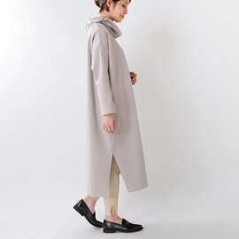 TANG|コットンミニ裏毛タートルネックワンピース 1625501es-yn