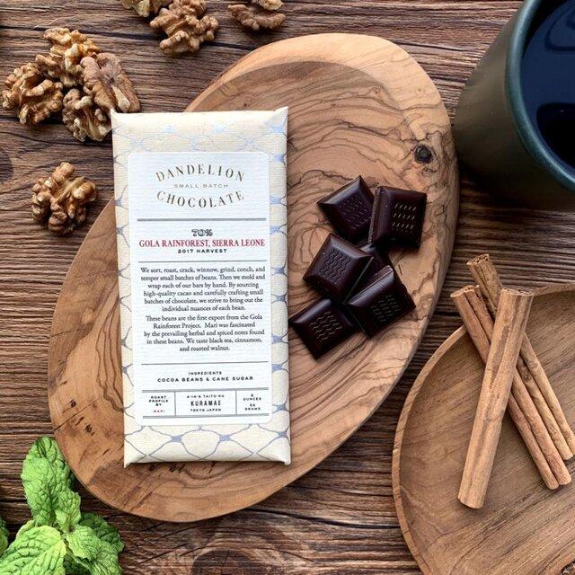 熱帯雨林の保全を兼ねてカカオを栽培するゴーラ・レインフォレスト・プロジェクトから初めて届いたカカオ豆です。 口の中で豊かに広がり変化するハーブやスパイスのフレーバーが特徴で、紅茶、シナモン、ローストしたくるみの味わいが楽しめます。