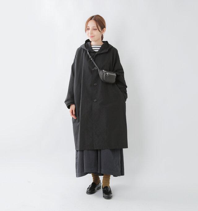 model yama:167cm / 49kg color : black / size : M