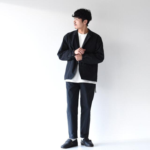 モデル: 173cm /58kg color:black / size:27.0cm