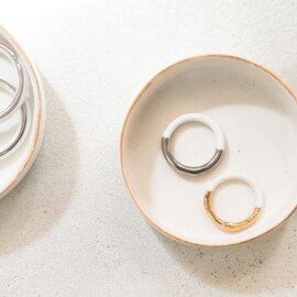 KODAMATOKI|THIS SIDE Ring Gold/Platinum