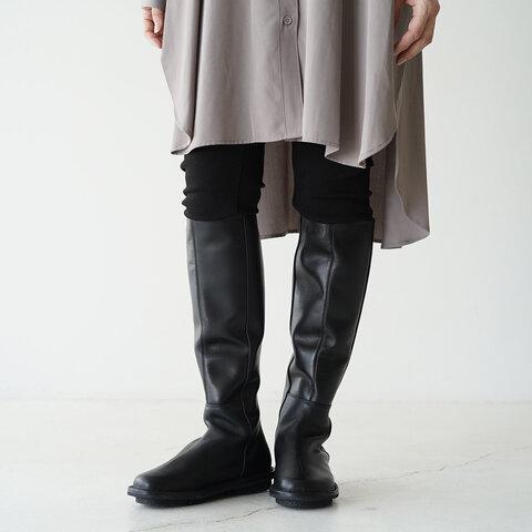 trippen バックジップ レザー ロング ブーツ TOWER-BOX トリッペン