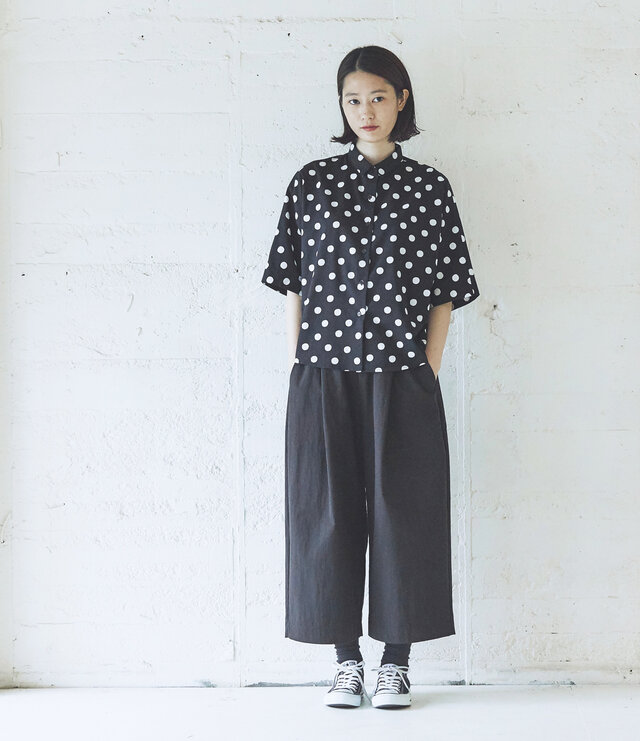 model:168cm color:ブラック