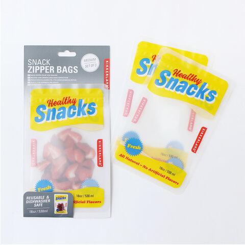 KIKKERLAND|Snack Zipper Bags