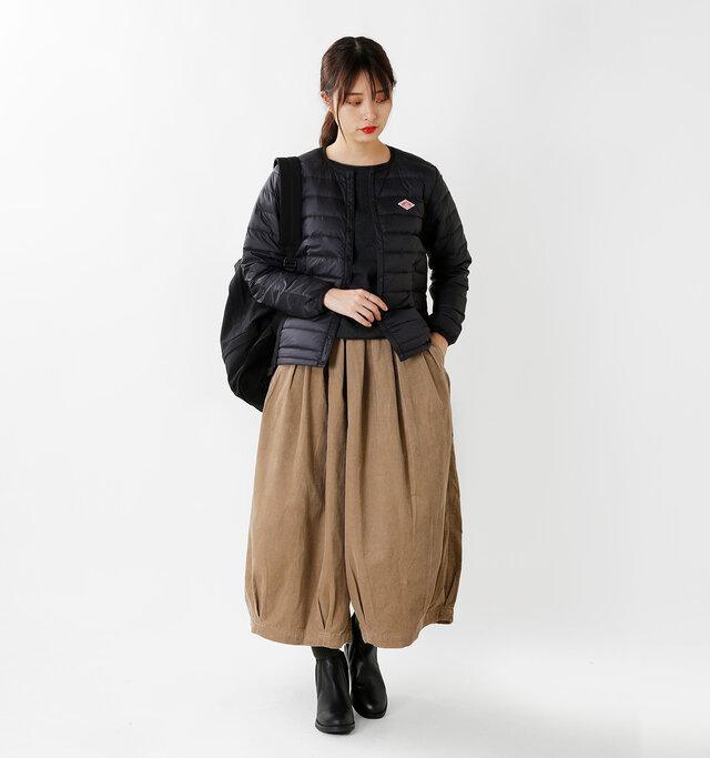 model kanae:167cm / 48kg color : black / size : 36