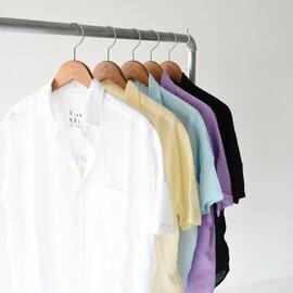 Frank&Eileen|ローズ ROSE ボイル コットン スキッパーシャツ 半袖 3110700200 フランクアンドアイリーン
