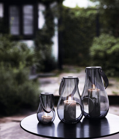 Holmegaard|ランタン DESIGN WITH LIGHT スモーク