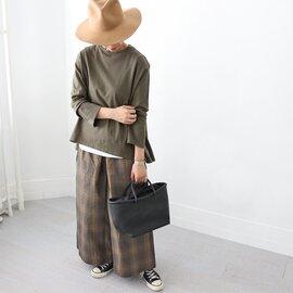 maillot|US Cotton Flair Long Tee 無地フレアーTee MAC-20227