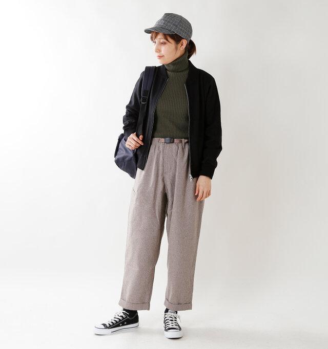 model yama:167cm / 49kg color : khaki / size : 38