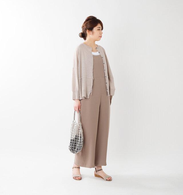model hikari:165cm / 48kg  color :  grayge / size : F