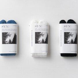 SYN:|ウォーキングソックス